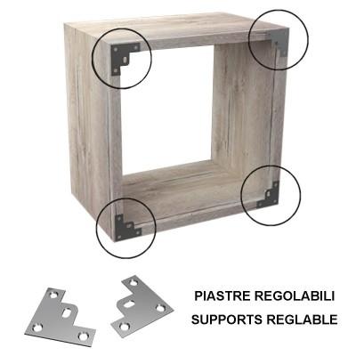 Etagere cube eipasseur 2 cm