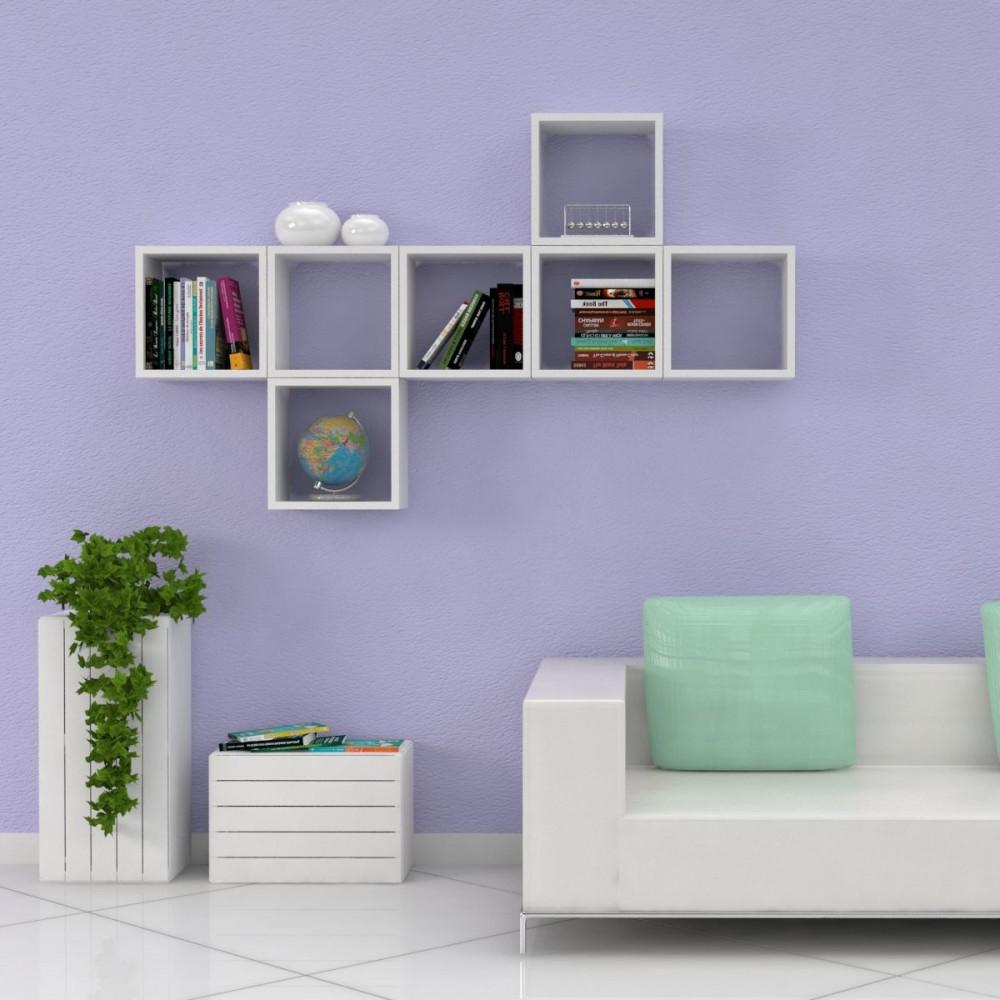 Cubi da parete cubi arredo cubi in legno sp 2 cm for Cubi da parete ikea