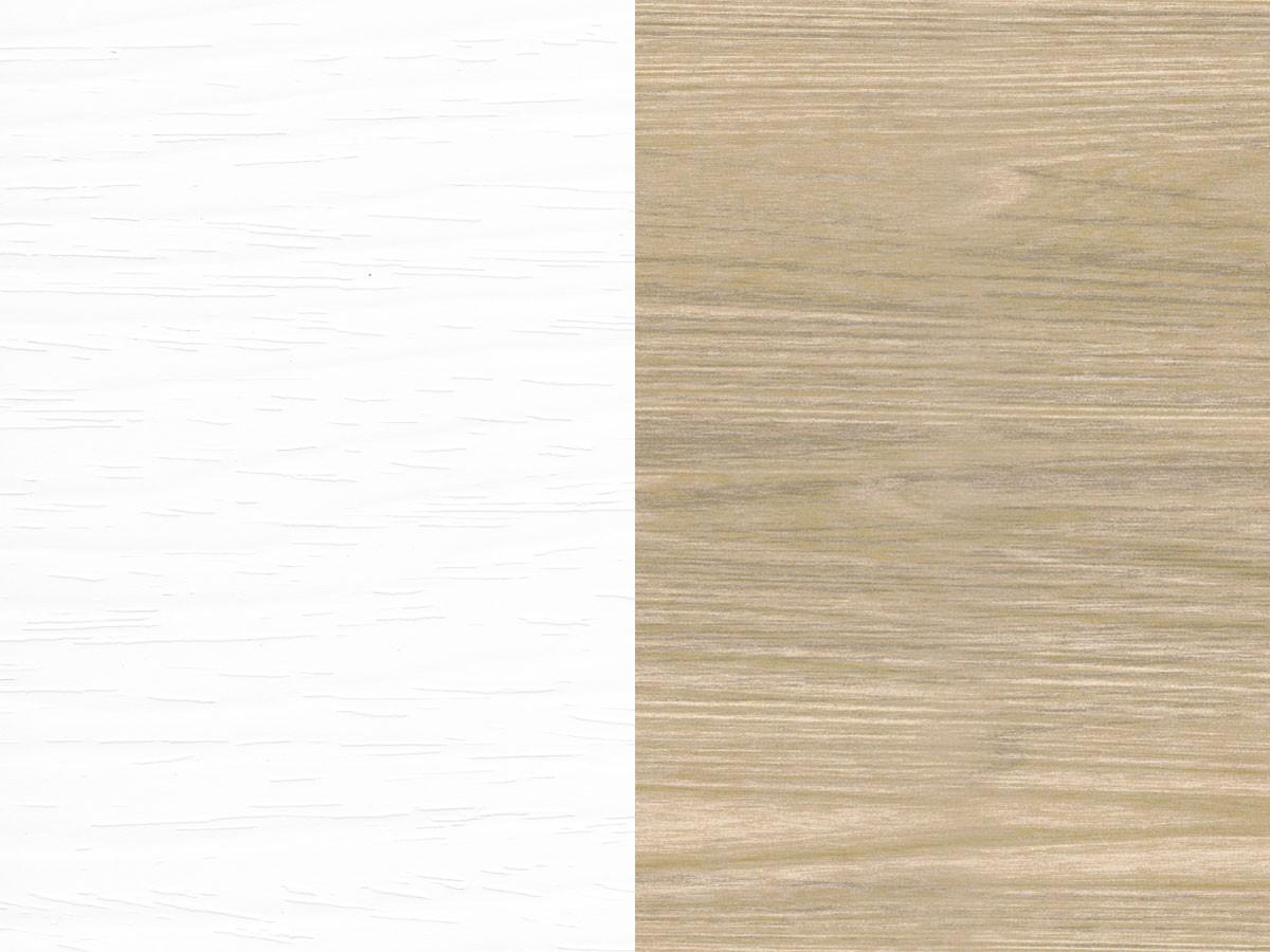 Bianco Frassinato - Rovere Rock