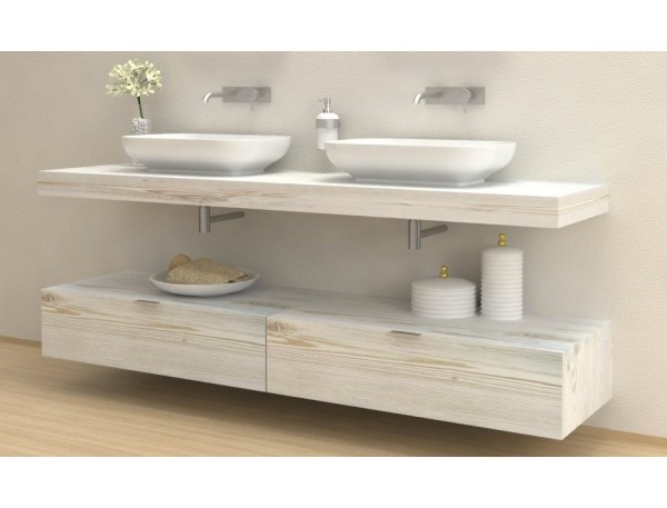 Come organizzare l'arredamento in bagno