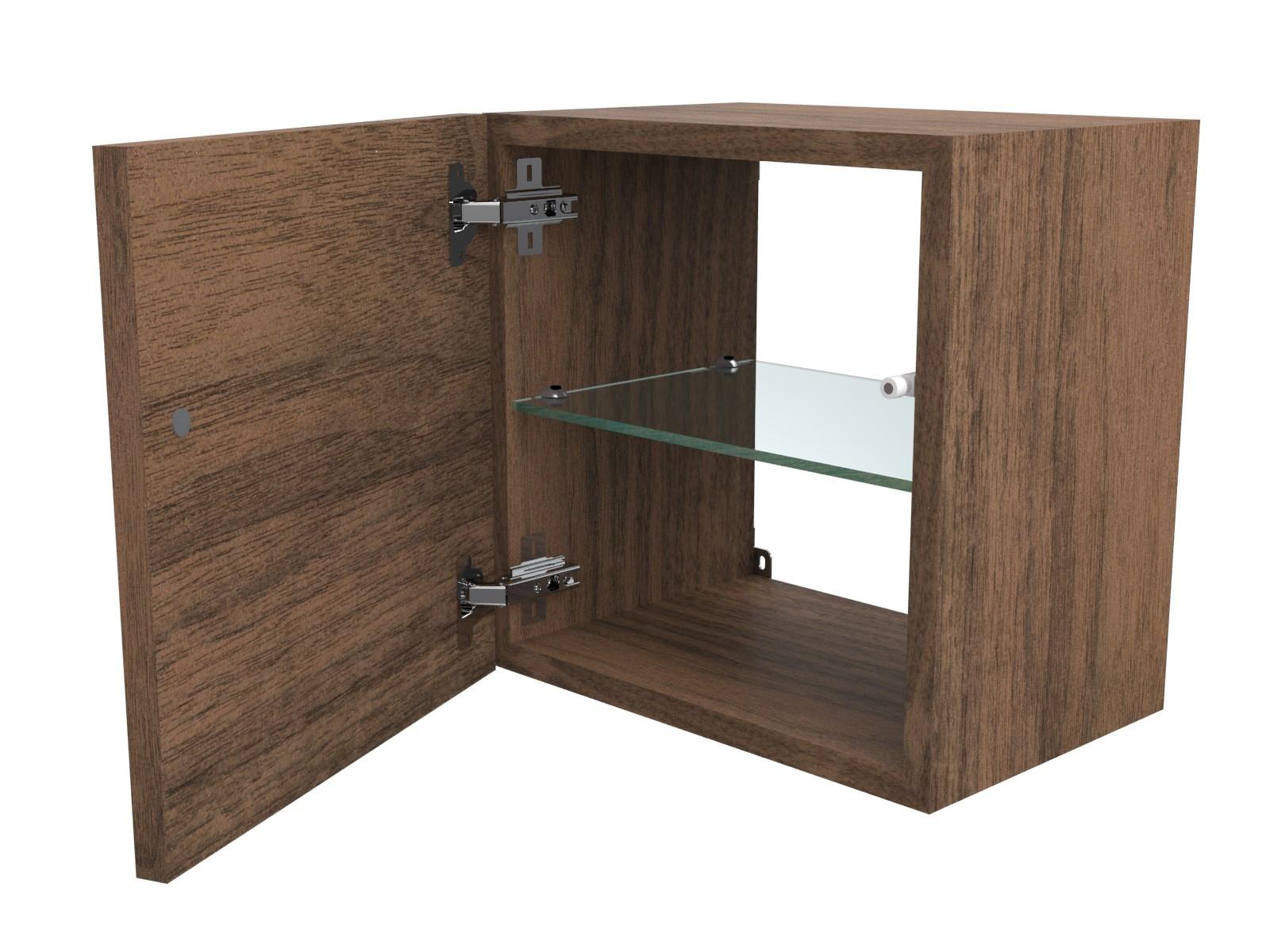 mensola lavabo a g in legno massello su misura spessore 5