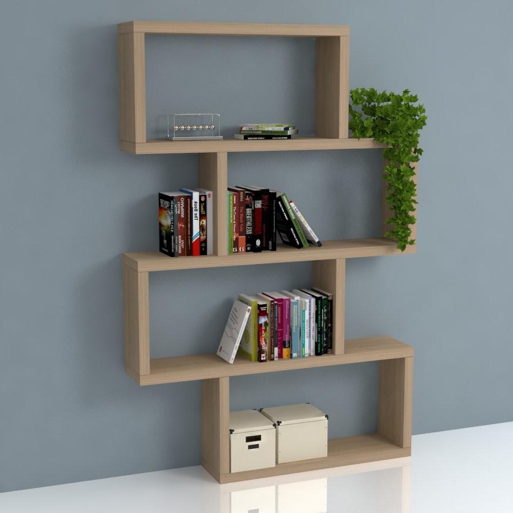 Reggimensole staffe per mensole in legno in metallo con for Mensole libreria