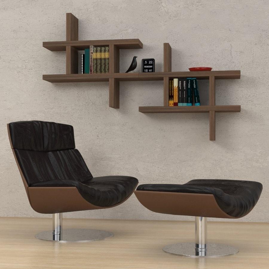 Reggimensole staffe per mensole in legno in metallo con for Cubi in legno arredamento