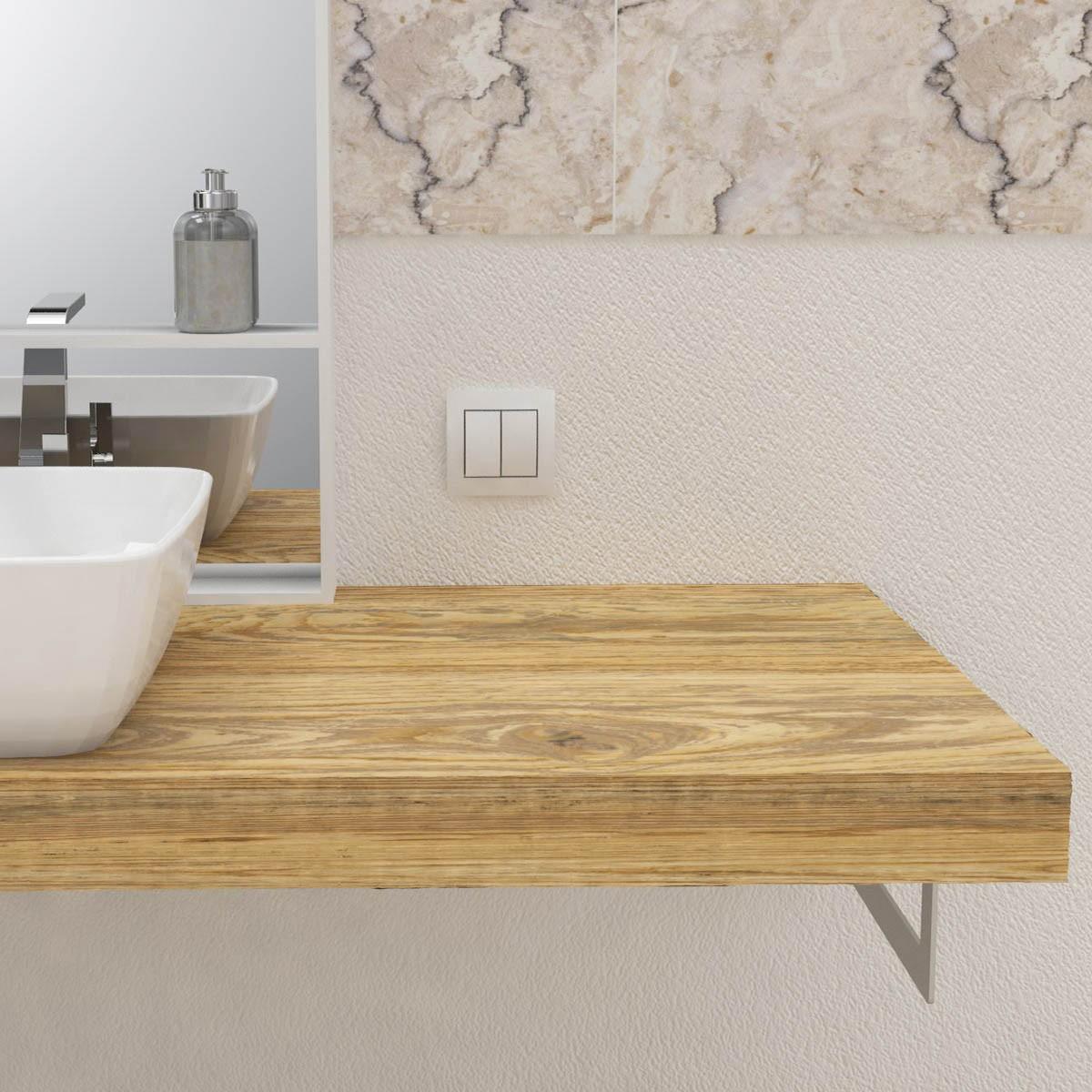 Mensole legno massello online